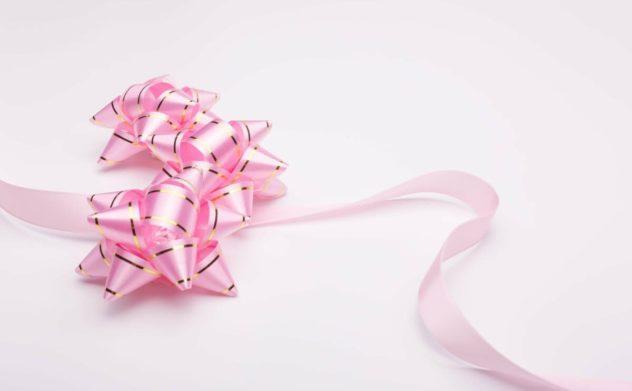 プレゼントのリボン